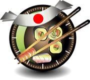 Sushi business Royalty Free Stock Image
