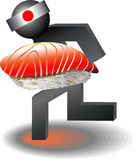 Sushi business Stock Photo