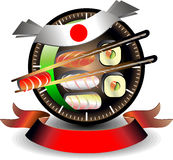 Sushi business Royalty Free Stock Images