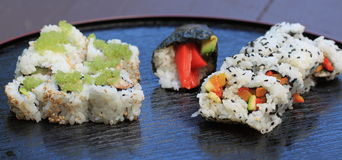 Sushi california roll Stock Photography