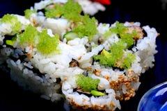 Sushi california roll. Healthy very popular Japanese food sushi california roll Royalty Free Stock Photo