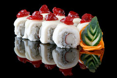 Sushi california rolls Royalty Free Stock Photography