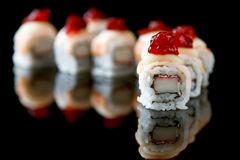Sushi california rolls Stock Image