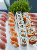 Sushi and California Rolls Royalty Free Stock Photos