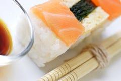 Sushi canapes Royalty Free Stock Photo