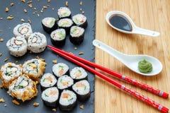 Sushi casalinghi Immagini Stock