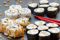 Sushi casalinghi Immagini Stock Libere da Diritti