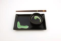 Sushi che pranzano regolazione Immagini Stock
