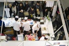 Sushi chefs Royalty Free Stock Photos