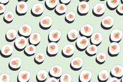 Sushi chinois d'image de signe de restaurant Photographie stock