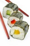 Sushi choice stock image