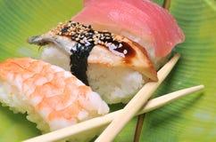 Sushi clasificado Imágenes de archivo libres de regalías