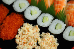 Sushi close-up Royalty Free Stock Image
