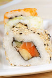 Sushi close-up Stock Photos