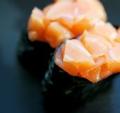 Sushi close-up Royalty Free Stock Photos