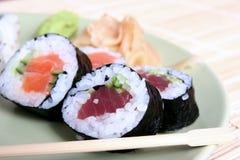Sushi close-up Royalty Free Stock Photos