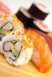 Sushi close up Stock Image