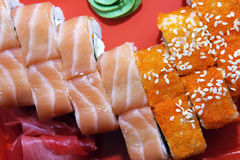 Sushi close-up Royalty Free Stock Images
