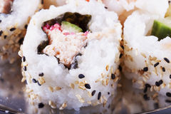 Sushi in close up Stock Photo