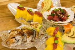 Sushi closeup Stock Image