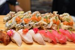 Sushi closeup Royalty Free Stock Photos