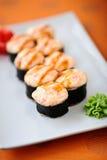 Sushi cocido al horno Imagenes de archivo