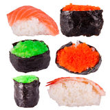 Sushi collection Royalty Free Stock Photo