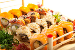 Sushi Collection Stock Photography
