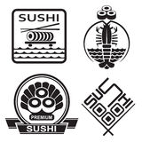 Sushi collection Stock Images