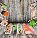 Sushi collection Royalty Free Stock Photos