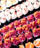 Sushi colorido del caramelo Fotos de archivo libres de regalías