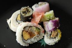 Sushi complejo Foto de archivo libre de regalías