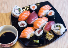 Sushi composition Royalty Free Stock Image