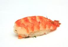 Sushi con il gambero Fotografia Stock Libera da Diritti
