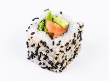 Sushi con l'avocado Fotografia Stock