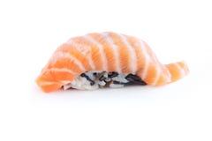 Sushi con los salmones imágenes de archivo libres de regalías
