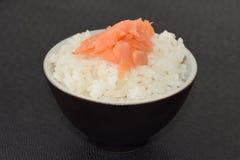 Sushi con los salmones Imagenes de archivo