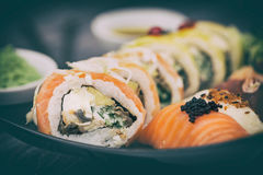 Sushi concepts. Royalty Free Stock Photos