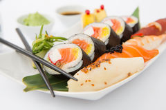 Sushi concepts. Stock Photography