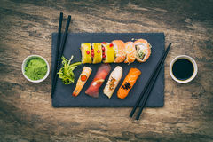 Sushi concepts. Royalty Free Stock Images