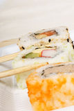 Sushi with copyspace Royalty Free Stock Photo