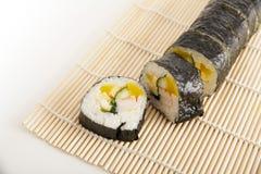 Sushi coreano Imagem de Stock