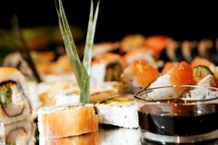 Sushi così buoni Fotografie Stock