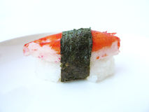 Sushi crab stick Stock Photo