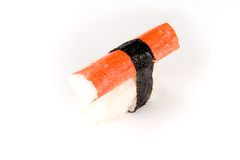 Sushi : Crabe Photo libre de droits