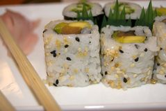 Sushi crazy horse Stock Images