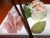 Sushi croquants Photographie stock
