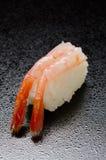 Sushi crus de crevette Image libre de droits