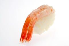 Sushi crus de crevette Images stock