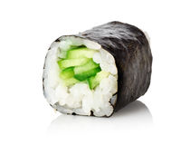 Sushi with a cucumber Stock Images